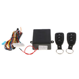 Remote Control Central Door Lock Anti theft Keyless Entry System For All Car