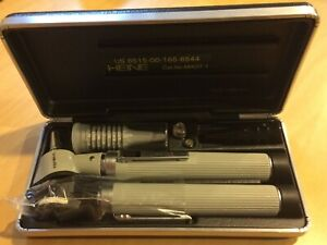 Heine Otoscope And Ophthalmoscope Set Hard Case Plus Extras