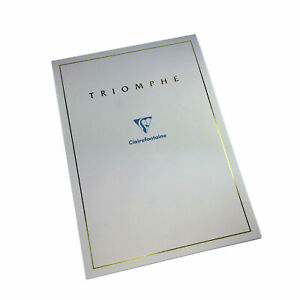 Clairefontaine Triomphe Writing Pad 6170 90g A4 8 3x11 7 Blank 50s
