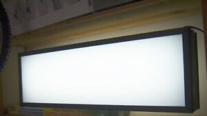 36 X 12 Aluminum Lighted Double Sided Sign Box Advertising Blank Can Light