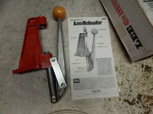 Lee Precision Reloader Press  Never Used