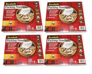 4 X 4 16 New 3m Scotch No Static Cling Space Saver Packing Peanuts 16 pack