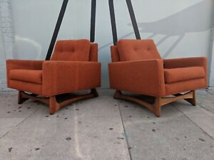 Set Of 2406 C Chairs Designed By Adrian Pearsall For Craft Associates 1950 S