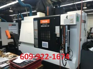 2011 Mazak Vcn 510c ii 5x Cnc Vertical Machining Center Vmc Mill