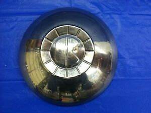 Rare Vintage 1951 Kaiser Dog Dish Hubcap Special Deluxe Good Condition