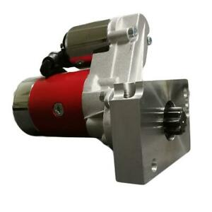 New For Sbc Bbc Chevy 3hp High Torque Mini Starter 327 350 396 Tooth Red Block