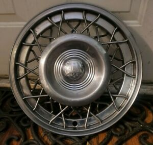 1 1950 1951 1952 1953 Oldsmobile Wire Spoke Center Hub Cap Wheel Cover Basket