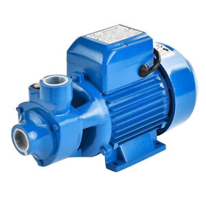 370w 1 Steel Centrifugal Clear Water Pump Industrial Clean Pool Pond Farm 110v