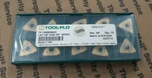 Tool flo Indexable Insert No L43 10p V020 Stub Gp50 tf15685n4 10 Pack