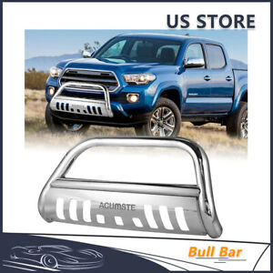 Front Bumper Bull Bar Grill Guard Skid Plate For Toyota Sequoia Tundra 2000 2007