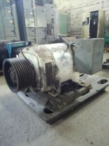125 Hp Dc General Electric Motor 1750 Rpm 407ay Frame Dpfv 500 V