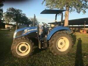 New Holland Powerstar Tractor T4 75 Mfwd