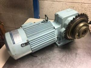 1 Hp Sumitomo Hyponic Induction Geared Motor Rnhm1 43r b 40 40 1 Ratio Used