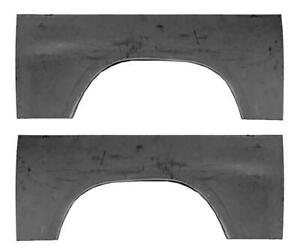 Upper Rear Wheel Arch Quarter Bed Panel Fits 97 04 Dodge Dakota Pair