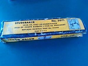 Nos Studebaker Front Motor Mount Doan No 2071 Replacement For No 191088