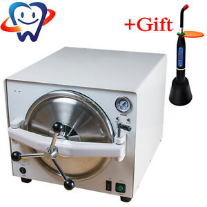 18l Dental Lab Autoclave Steam Sterilizer Medical Sterilization Equipment Gift