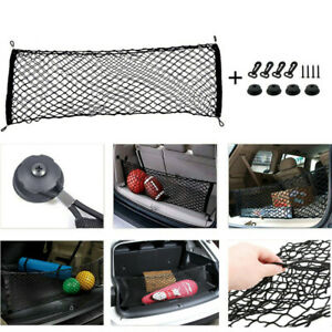 2019 New Car Envelope Style Trunk Cargo Net Universal Auto Parts Accessories