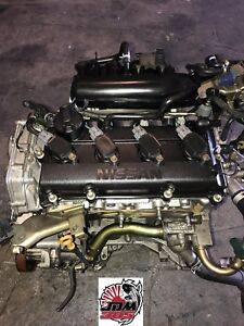 02 06 Nissan Altima 2 0l Dohc 4 Cylinder Replacement Engine Jdm Qr20de
