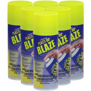 Plasti Dip Blaze Yellow Spray Pack Of 6 11 Oz Cans