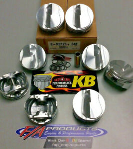 Kieth Black Small Block Chevy 383 Stroker 6 0 Rod 150 Dome Pistons Kb123 040