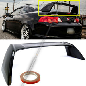 Fit 02 06 Acura Rsx Dc5 Glossy Black Painted Jdm Tr Type R Rear Trunk Spoiler