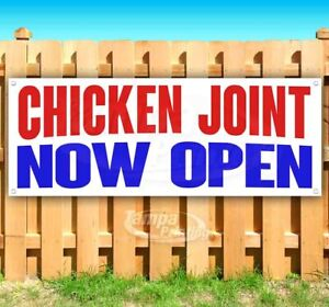 Chicken Joint Now Open Advertising Vinyl Banner Flag Sign Many Sizes