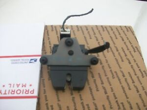 2012 2013 2014 Ford Focus Trunk Lid Lock Latch 12 13 14 Works Great