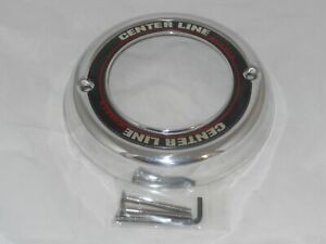 Center Line Polished Aluminum Cs 106 Wheel Rim Center Cap Open Ended 7 9 16 Dia
