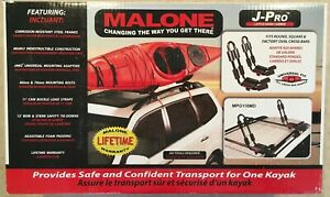 Malone J pro Mpg116md J style Kayak Carrier Roof Rack Universal Mounting
