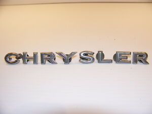 1968 Chrysler 300 Hood Emblems Oem New Yorker Newport Town Country