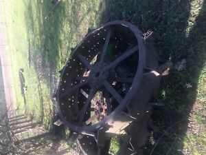 Antique Steel Tractor Wheels
