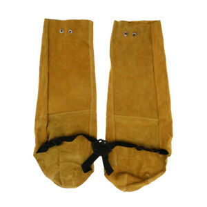1 Pair Soldering Protective Sleeves Fire Flame Resistant For Welders
