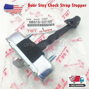 New Front Door Check Stop Both Sides 68610 02160 For Toyota Corolla 2009 2012