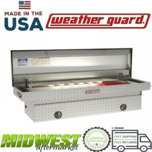 Weatherguard Aluminum Saddle Box W Lighting For All Gm Dodge Full Size Pickups
