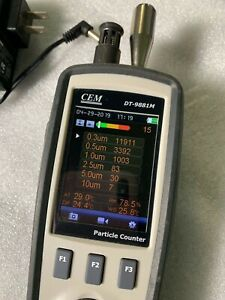 Cem Dt 9881m 6ch Air Particle Counter Temperature Humidity Hcho Co Gas Detecter