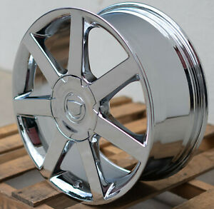 Cadillac Xlr 18 Inch Chrome Wheels 18 Rims Cts Oem 18x8 0 4576 4577 5x4 75 Bp