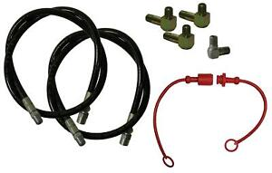 Hose Conversion Kit For Meyer Plows Angling Hose Quick Disconnect