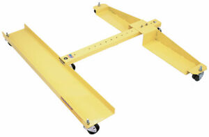Snow Plow Cart Plow Dolly Quick Mount Plow Cart For Western Snow Plow