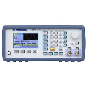 Bk Precision 4047b 20 Mhz Dual Channel Function arbitrary Generator