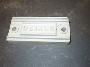 Weiand Blower Supercharger Intake Manifold Pop Off Cover Plate 671 871