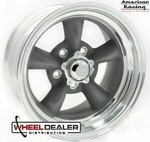 4 15x7 American Racing Vn215 Torque Thrust Ii Wheels Ford Mustang 1965 1966