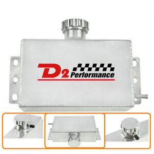 1l 10an Radiator Coolant Overflow Bottle Tank Expansion Reservoir For Honda 240s
