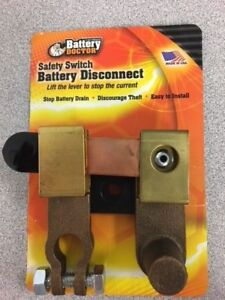 Battery Doctor By Wirth Co Safety Switch Battery Disconnect