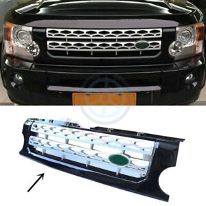 For Land Rover Lr3 discovery 2005 09 Silver New Front Grill Grille Cover Trims H