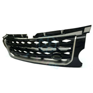 For Land Rover Discovery Lr4 2014 16 Black Main Body Front Grille Replace Trim H
