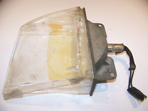 1970 Plymouth Barracuda Cuda Front Parking Light Assembly Oem Lh 3403081