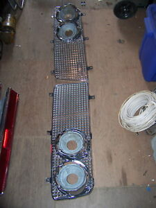 1964 Chrysler Imperial Grill Oem 2417776 2417777