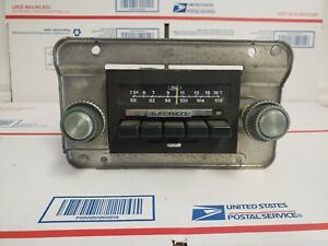 Ford Truck Bronco Am Fm Stereo Radio Oem 80 86