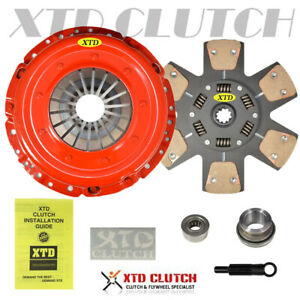 Amc Stage 3 Ceramic Clutch Kit 99 04 Ford Mustang V8 11 Inch