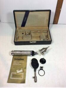 Welch Allyn Opthalmoscope Otoscope Head Propper Handle Wappler Electric New York